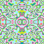 Trippy Kaleidoscope Seamless Pattern