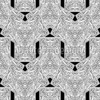 Überlappender Rhythmus Vektor Muster