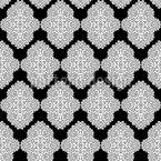 Geordnete Embleme Rapportiertes Design