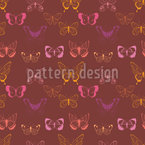 Butterfly Variety Seamless Vector Pattern