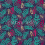 Tropical Fern Repeat Pattern
