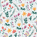Glade Of Magic Flowers Design Pattern