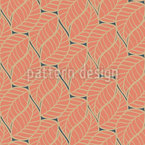 Art Deco Foliage Vector Design