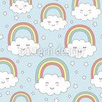 Glückliche Kleine Wolken Rapport
