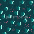 Flowers Shine Pattern Design