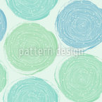 Spiral Fingerprint Design Pattern