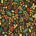 Herbstliche Vielfalt Nahtloses Vektormuster