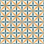 Stilisierte Fliese Nahtloses Vektor Muster