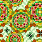 African Zen Repeat Pattern