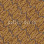 Art Deco Blätter Nahtloses Vektormuster