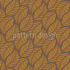 Art Deco Leaves Pattern Design