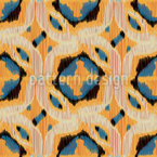 Grafisches Ikat Musterdesign