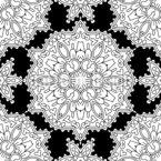 Mit Linien Umgrenzt Muster Design