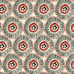 African Abstract Seamless Vector Pattern Design