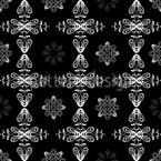 Renaissance Crystal Seamless Vector Pattern Design
