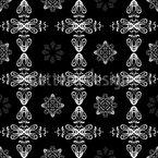 Renaissance Kristall Nahtloses Vektormuster
