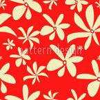 Впечатления цветения Бесшовный дизайн векторных узоров