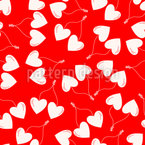 Cherries In Love Design Pattern