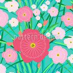 Blumen Wildnis Muster Design