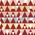 Tents Seamless Vector Pattern Design
