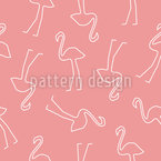 Flamingo Silhouettes Vector Design