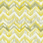 Frisches Ikat Chevron Vektor Ornament