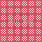Trellis entrelaçada Design de padrão vetorial sem costura