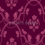 Rocko Pink Seamless Vector Pattern Design