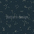 Star Constellation Vector Pattern
