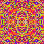 シュールな夢 シームレスなベクトルパターン設計