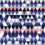 Rauten und Dreiecke Nahtloses Vektormuster