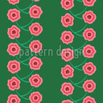 Tangled Flowers Pattern Design