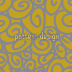 Beginning And End Gold Silver Seamless Vector Pattern Design