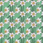 Narcissus Floral Vektor Design