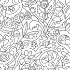 Lieblingsgarten Muster Design