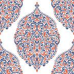 Amor florescendo Design de padrão vetorial sem costura