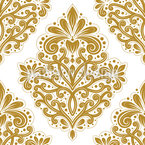 Alegria Floral Design de padrão vetorial sem costura