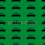 Nice Cars Seamless Vector Pattern Design