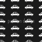 Cool Cars Seamless Vector Pattern Design