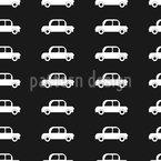 Coole Autos Nahtloses Vektormuster