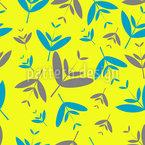 Bastone foglia disegni vettoriali senza cuciture