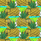 Tropical Cocktail Party Repeating Pattern