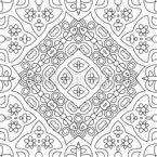 ラインが整った シームレスなベクトルパターン設計