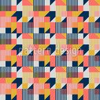 Style Bauhaus Motif Vectoriel Sans Couture