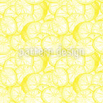 Very Fresh Lemons Seamless Pattern