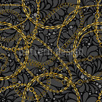 Mix of Chains Seamless Vector Pattern Design