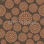 Texturierte Kreise Vektor Muster