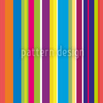 Happy Stripes Seamless Vector Pattern Design