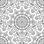 Covered Circles Repeat Pattern