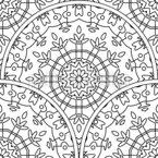 カバーされた円 シームレスなベクトルパターン設計